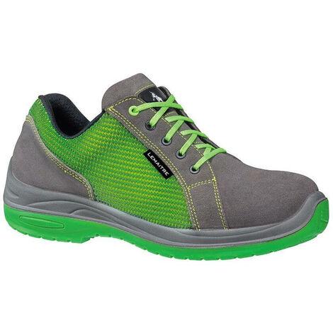 Chaussures de sécurité basses Lemaitre Skate S3 CI SRC 100% non métalliques Vert / Gris