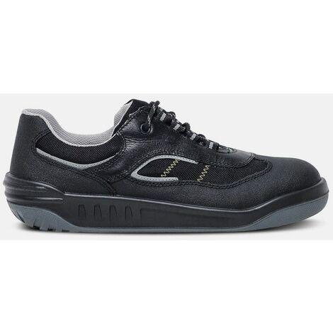 fb7cb4ff7731b Jerico 7834- Chaussures de sécurité niveau S1 - Mixte - taille   42 -  couleur   Noir - PARADE