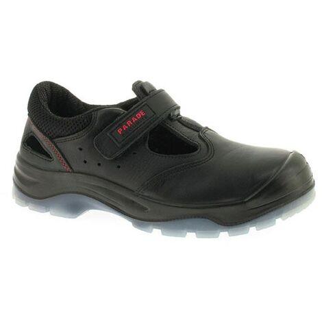 3dbe6fe91e958 Chaussures de sécurité basses - Parade Latina - Norme S1P - Homme Noir 37