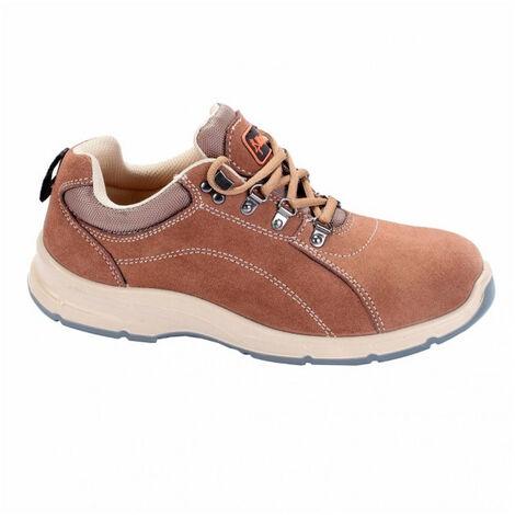 Chaussures de sécurité basses PATROL marron KAPRIOL S3, SRC (42) - Pointure : 42