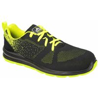 Chaussures de sécurité basses Portwest Steelite Aire S1P Noir / Vert