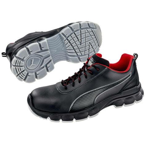 Noir S3 Basses Rouge Esd Sécurité De Puma Pioneer Src Chaussures XkZiuP