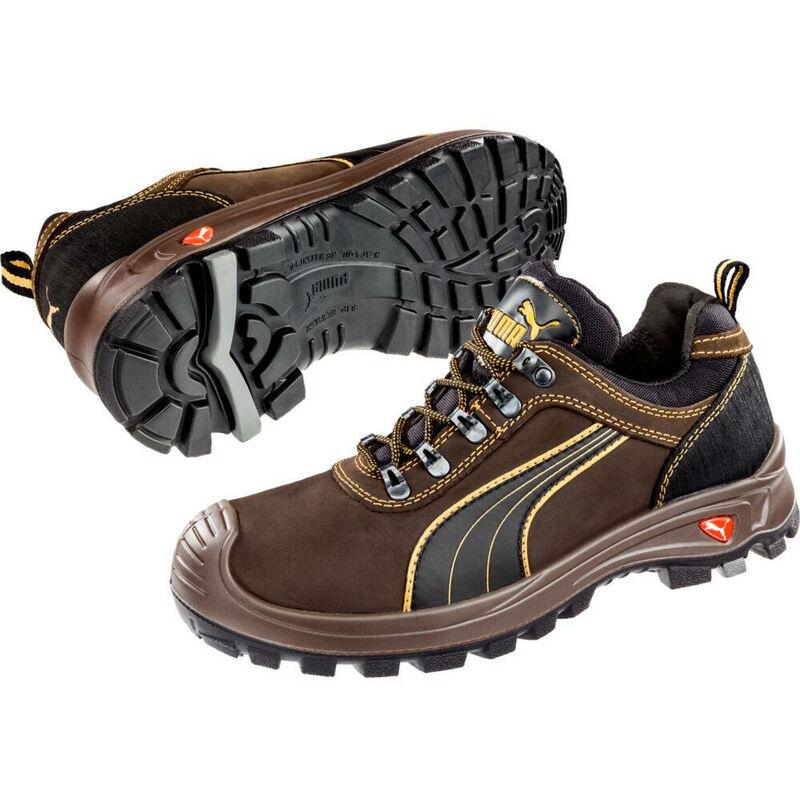 Chaussures de sécurité basses Puma Sierra Nevada Low S3 HRO SRC Marron
