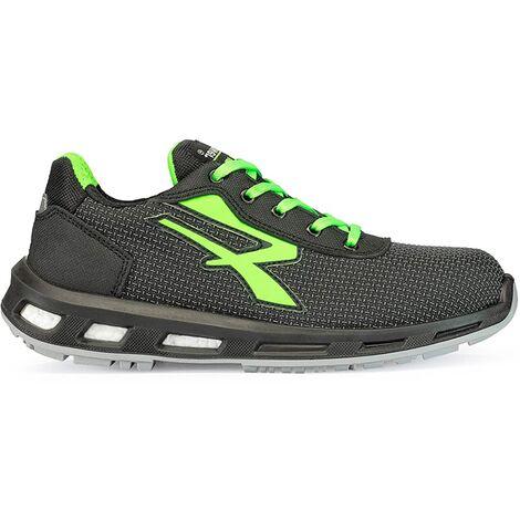 Chaussures de sécurité basses STRONG S3 SRC - Gris - Vert - RED LION RL20356 - U-Power