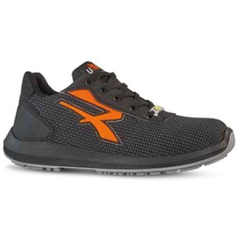 Chaussures de sécurité basses TAURUS S3 SRC ESD Gris Orange RED UP RU20114 U Power Gris Orange 42 taille: 42