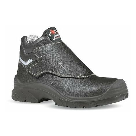 Chaussures de sécurité Bulls - S3 HRO - Taille 43 - Cuir - Noir