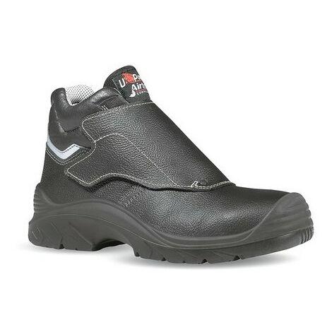 Chaussures de sécurité Bulls - S3 HRO - Taille 44 - Cuir - Noir