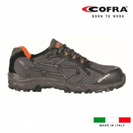 Chaussures de securité cofra cyclette black s1 p src taille 38.