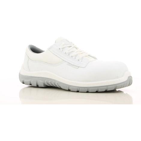 tout neuf 48617 0ce61 Chaussures de sécurité cuisine / Agroalimentaire Maxguard Wesley S2 SRC  100% non métalliques Blanc