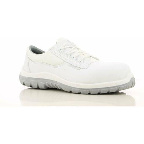 Chaussures de sécurité cuisine / Agroalimentaire Maxguard Wesley S2 SRC 100% non métalliques Blanc