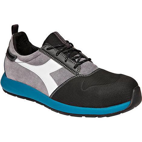 3f9bf2d2153102 Chaussures de sécurité DIADORA Basse Noir/Gris S3 SRC HRO ESD D-LIFT LOW
