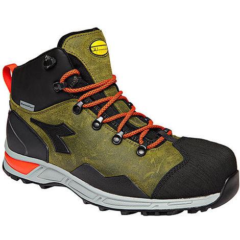 Chaussures de sécurité DIADORA Haute Vert S3 SRA HRO WR D TRAIL LEATHER HIGH DIADORA 173536702140
