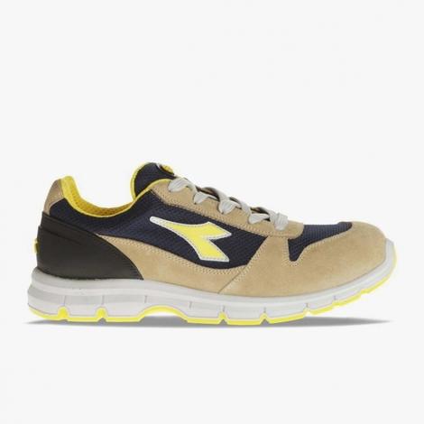 la meilleure attitude 3a921 4dd0a Chaussures de sécurité Diadora Run Textile S1P beige / bleu