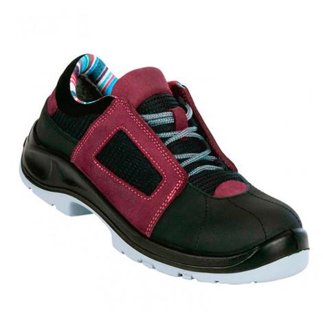 Chaussures de sécurité femme AIR LACE LADY S1P SRC ESD - taille: 36 - couleur: Aubergine