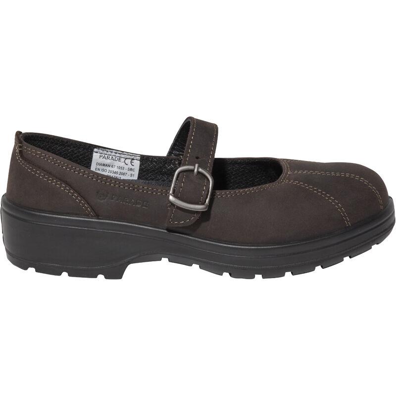 Ou Chaussures Sécurité Diaman S1 De Femme Ballerine Marron Noir Src xsdCBhtQro