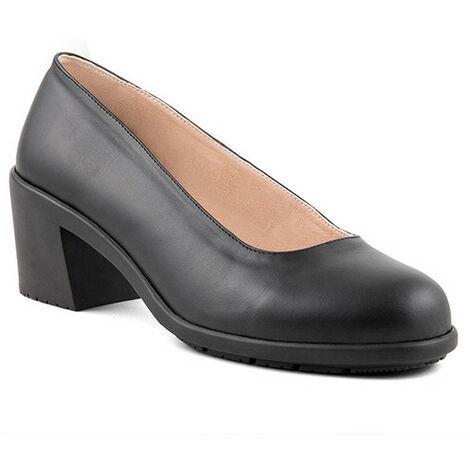 Chaussures de sécurité femme pour service en salle VADUZ O1 SRA - Noir