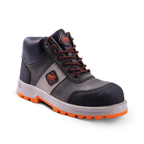 Chaussures de sécurité GASTON MILLE Rhin S3 SRA - GRHN3 - taille - 43 - Marron/Orange