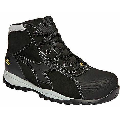 Chaussures de sécurité haute noirs S3 SRA HRO ESD Glove Tech High Pro DIADORA 173527800130