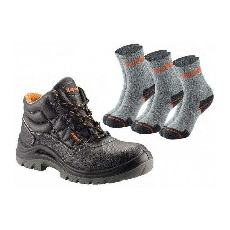 modèles HORNET paires chaussettes de disponibles hautes noir3 Chaussures KAPRIOL sécurité de plusieurs dCorxBe