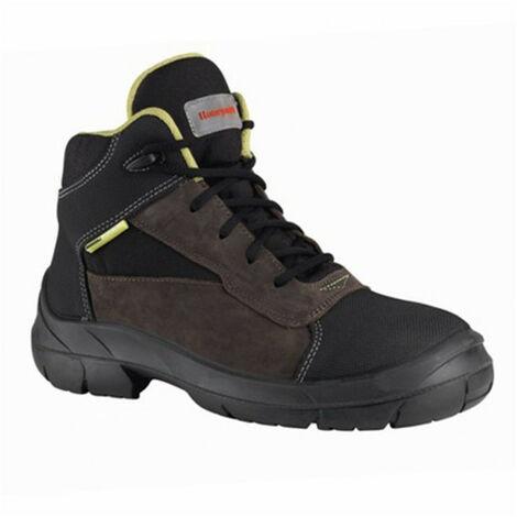 Chaussures de sécurité hautes PEAK (BACOU) marron-noir HONEYWELL S3, CI, SRC (39) - Pointure : 39