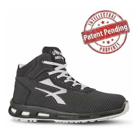 Chaussures de sécurité hautes STEGO S3 SRC - Gris - RED LION RL10376 - U-Power