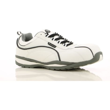 Chaussures de sécurité Maxguard Levi S3 100% sans métal Blanc / Noir