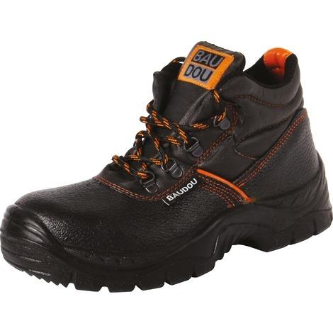 """main image of """"Chaussure de sécurité haute avec embout de sécurité composite et semelle en acier inoxydable MIAMI HAUT - Baudou"""""""