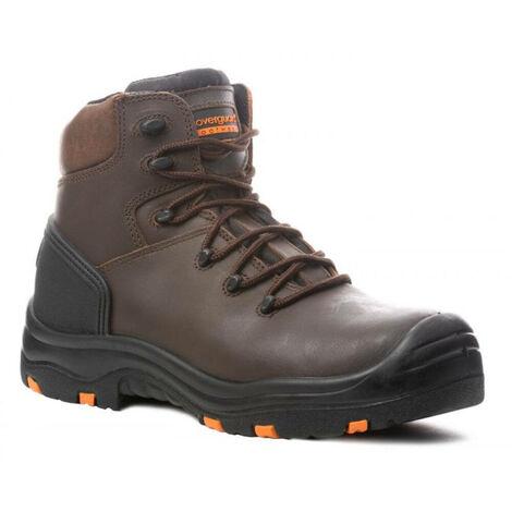 Chaussures de sécurité montantes Coverguard Topaz S3 SRC HRO 100% sans métal Marron