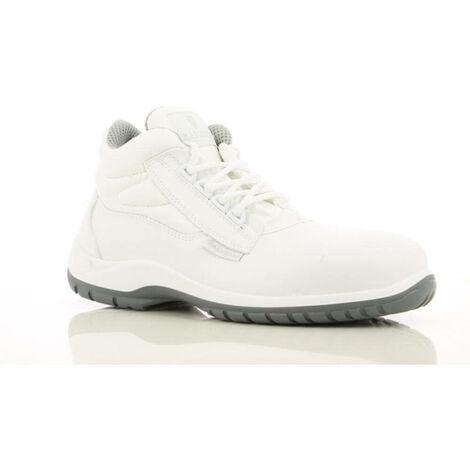 Chaussures de sécurité montantes cuisine / Agroalimentaire Maxguard Wayne S2 SRC 100% non métalliques Blanc