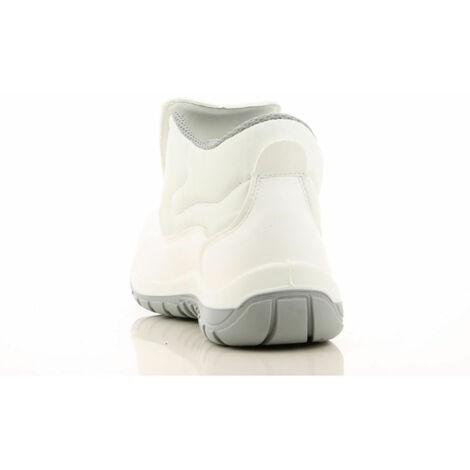 Sécurité Src Montantes Agroalimentaire Wilson De 100Non S2 Métalliques Chaussures Blanc Cuisine Maxguard eWDYEH29Ib