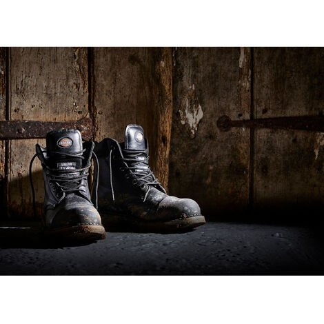 Chaussures de sécurité montantes Dickies Crawford SBP HRO SRC Noir