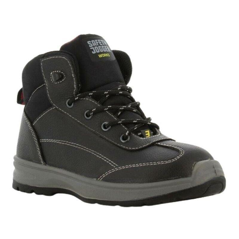 Chaussures de sécurité montantes femme Safety Jogger BESTLADY S3 SRC Noir