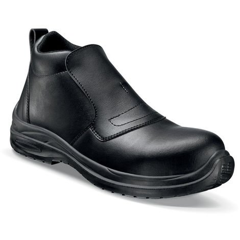 Chaussures de sécurité montantes homme Lemaitre BLACKMAX S2 SRC Noir