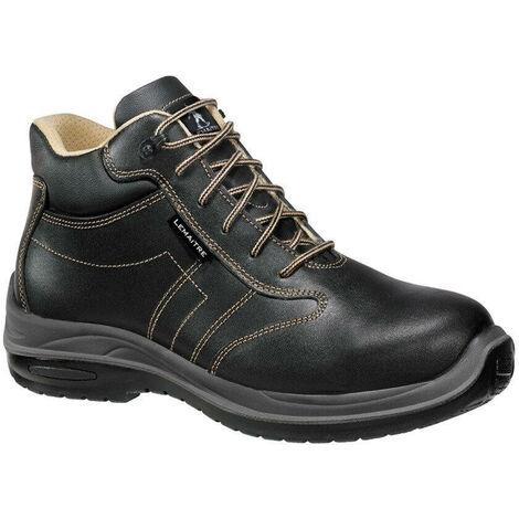 Chaussures de sécurité montantes Lemaitre Comete S3 CI SRC 100% non métalliques Noir