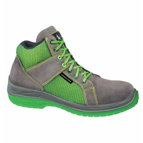 Chaussures de sécurité montantes Lemaitre Jump S3 CI SRC 100% non métalliques Vert / Gris
