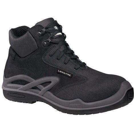 Chaussures de sécurité montantes Lemaitre Roissy S3 CI SRC 100% non métalliques Noir