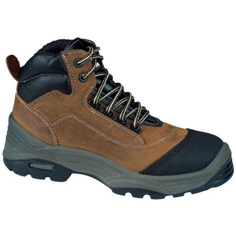 Chaussures de sécurité montantes Lemaitre Solano S3 CI SRC 100% non métalliques Marron