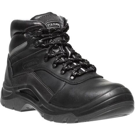 Chaussures de sécurité montantes pour chantier - Parade Avila - Norme S3 - Femme Noir 39 - Noir