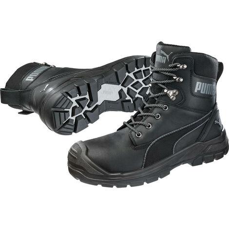 vente chaude en ligne 74fa5 85440 Chaussures de sécurité montantes Puma Conquest S3 WR HRO SRC Noires
