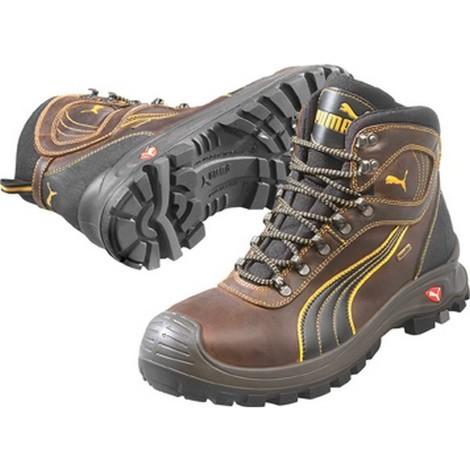 Chaussures de sécurité montantes S3 WR SRC HRO Puma Sierra Nevada brun