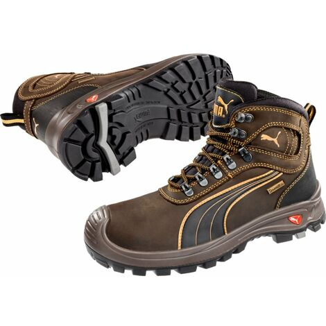 Puma De Brun Nevada Sécurité Src Chaussures Hro Sierra Montantes S3 Wr eWxBCQrdo