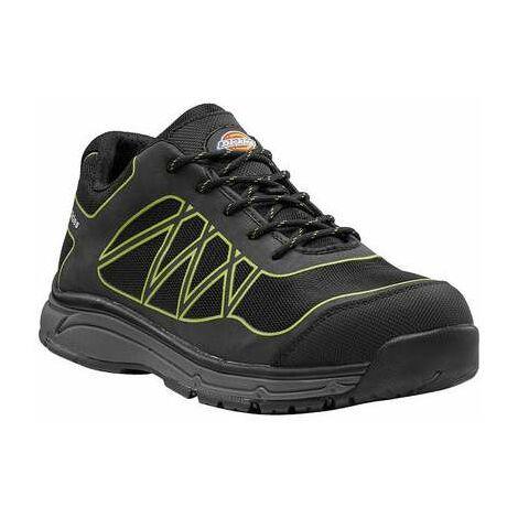 Chaussures de sécurité noire / verte - Phoenix - Dickies