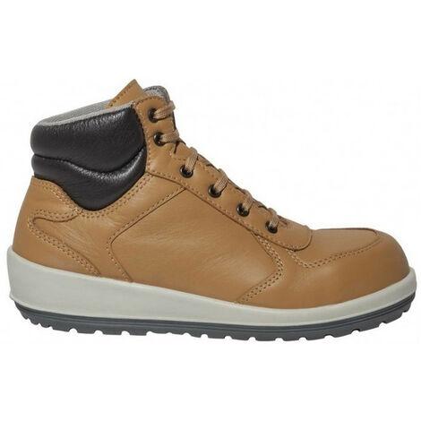 Chaussures de sécurité pour femme BRAZZA marron S3 SRC PARADE - plusieurs modèles disponibles