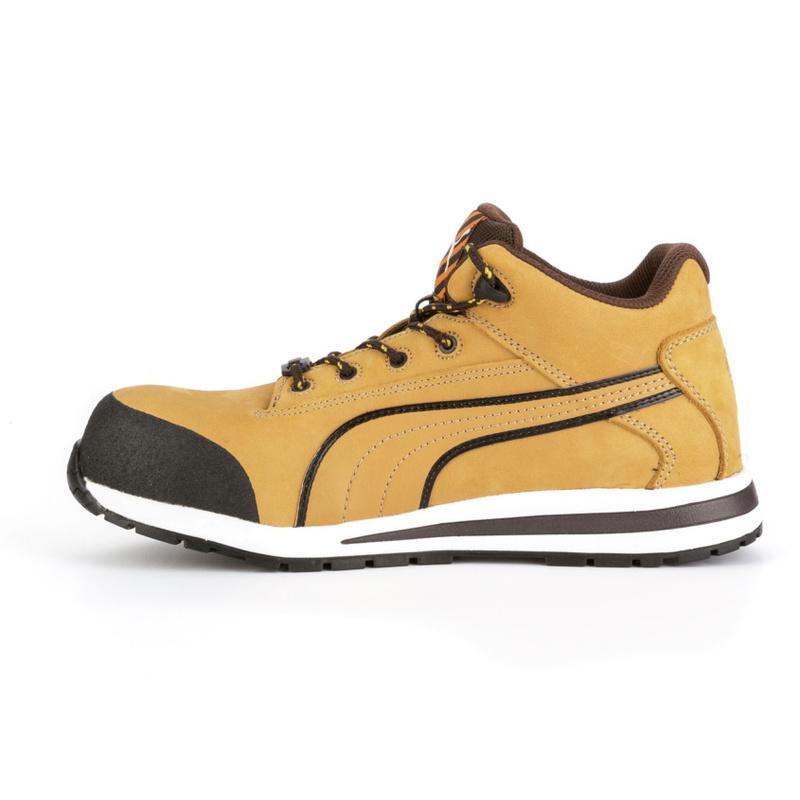 Src S3 De Puma Chaussures Dash Mid Sécurité Beiges Hro Wheat erxCBoWd