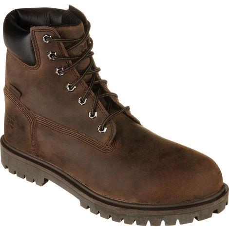 Chaussures de sécurité S3 HRO SRC WR Iconic Timberland Pro brunes