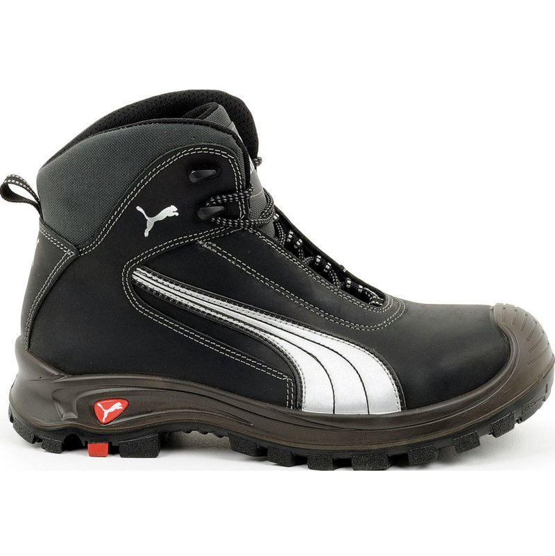 Chaussures de sécurité S3 SRC HRO Puma Montantes Cascades noiresblanches
