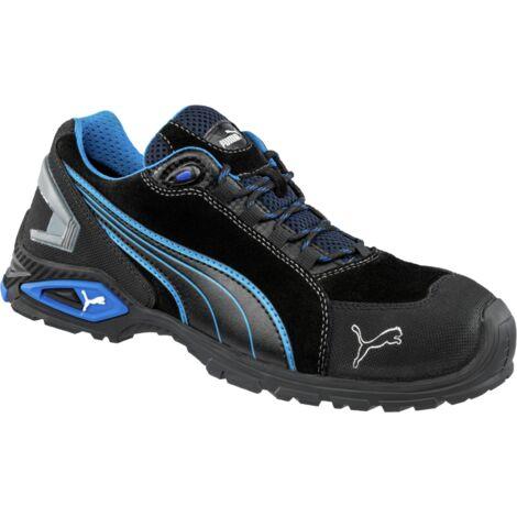 """main image of """"Chaussures de sécurité S3 SRC Puma Rio noires/bleues"""""""