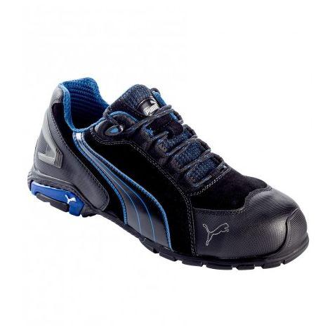 74ea2907a27 Chaussures de sécurité S3 SRC Puma Rio noires bleues