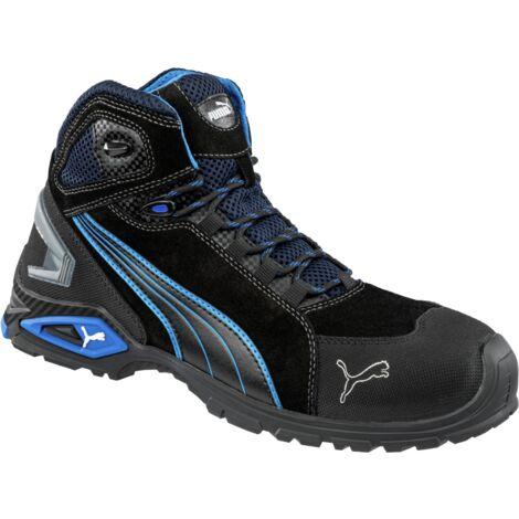 """main image of """"Chaussures de sécurité S3 SRC Rio Puma noires/bleues"""""""