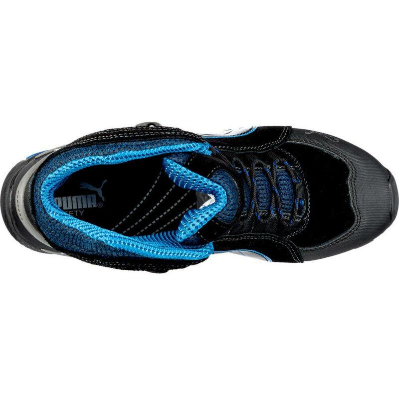Chaussures de sécurité S3 SRC Rio Puma noiresbleues